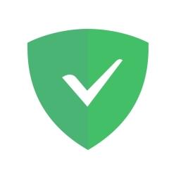 لوگو AdGuard  — adblock&privacy