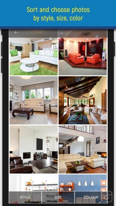 تصاویر Living rooms. Interiors design