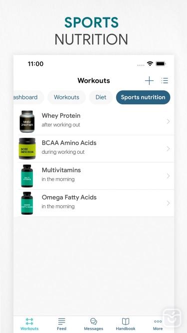 تصاویر Workout app Fitness Online