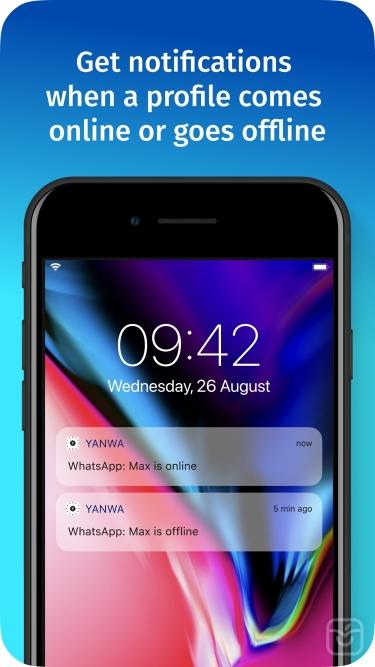 تصاویر Yanwa - tracker for Whatsapp