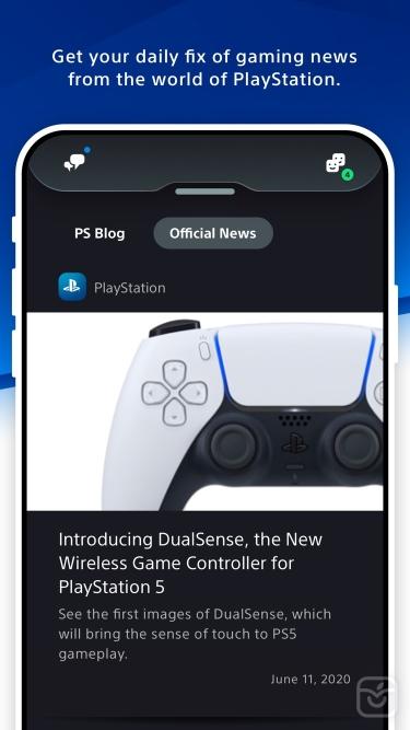تصاویر PlayStation App