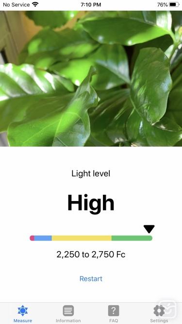تصاویر Plant Light Meter