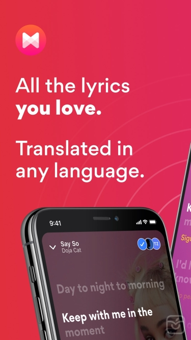 تصاویر Musixmatch Lyrics Finder