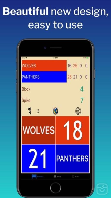 تصاویر VBall ScoreMaster