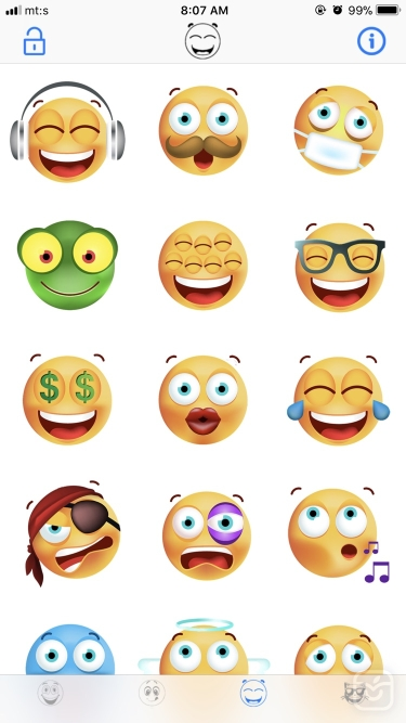 تصاویر Animated Emojis for Message
