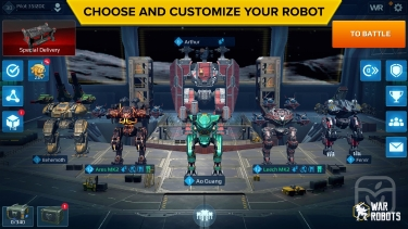 تصاویر War Robots Multiplayer Battles