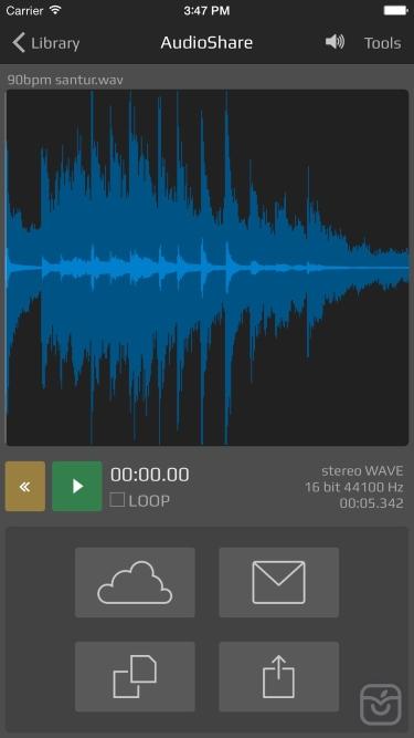 تصاویر AudioShare