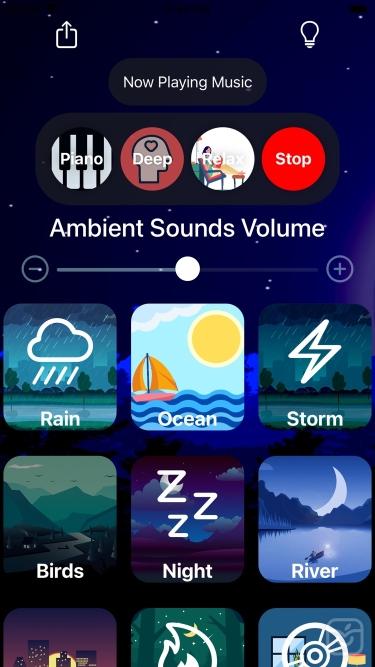 تصاویر SleepMe:  Sleep Sounds