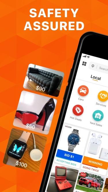 تصاویر 5miles: Buy and Sell Locally