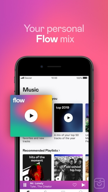 تصاویر Deezer: Music & Podcast Player++