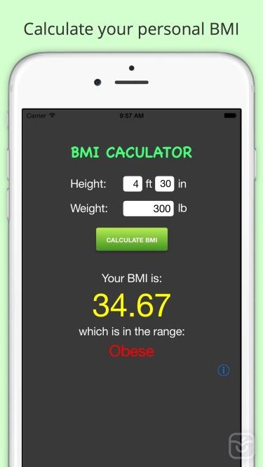 تصاویر BMI Calculator - Body Mass Index Calculation