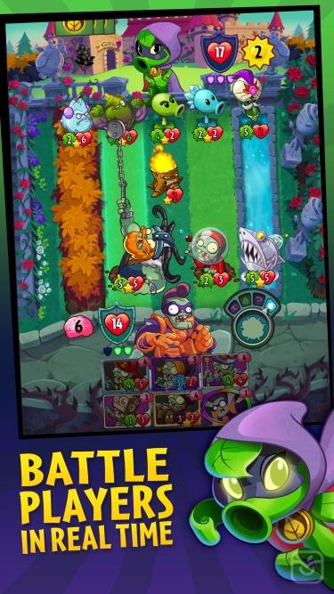 تصاویر Plants vs. Zombies™ Heroes