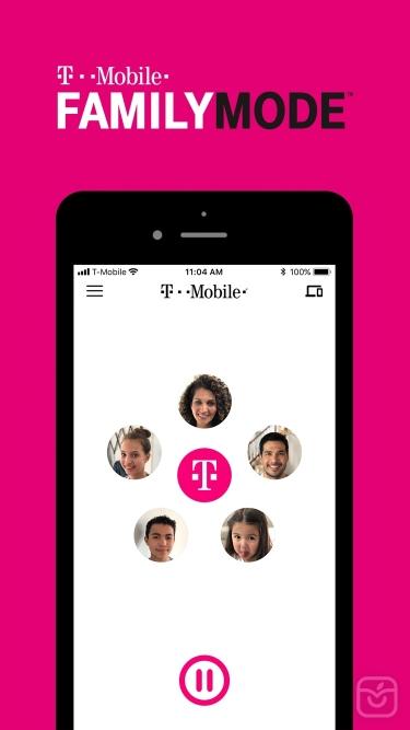 تصاویر T-Mobile FamilyMode