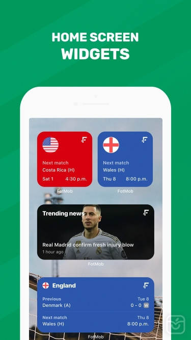 تصاویر FotMob - Soccer Scores