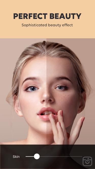 تصاویر SNOW - Beauty & makeup camera