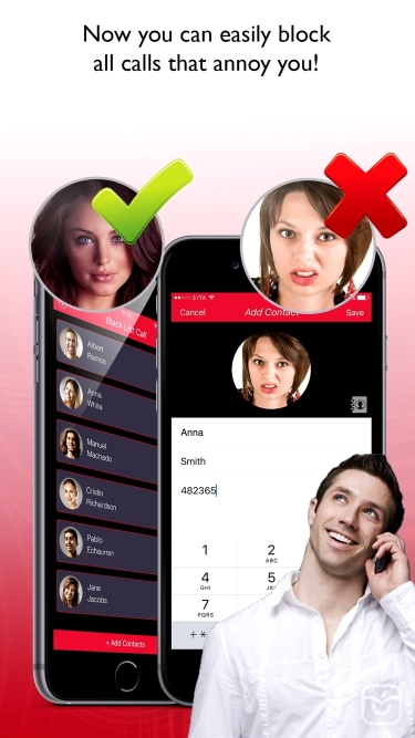 تصاویر Black List Call Pro