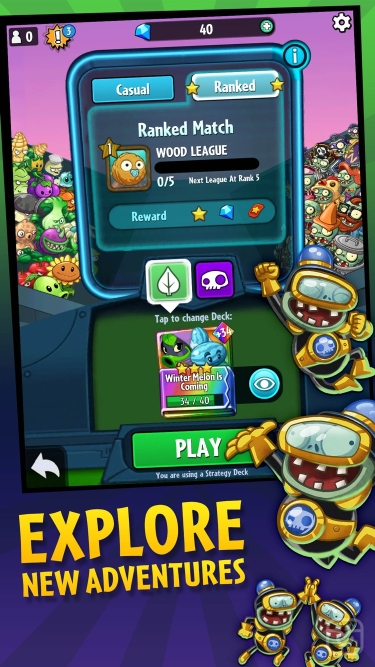 تصاویر Plants vs. Zombies™ Heroes