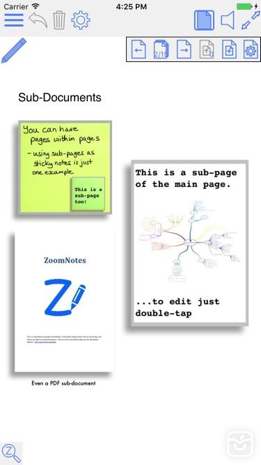 تصاویر ZoomNotes