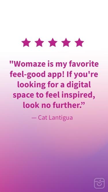 تصاویر Womaze: Self-Care & Motivation