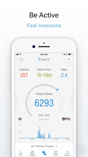 تصاویر Pacer Pedometer & Step Tracker