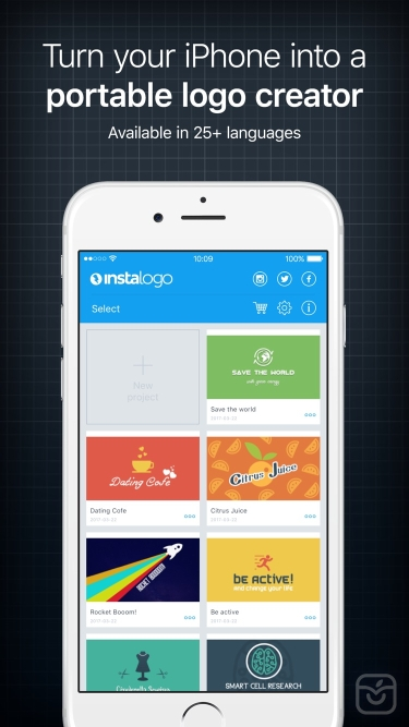 تصاویر Logo Maker, InstaLogo & Design