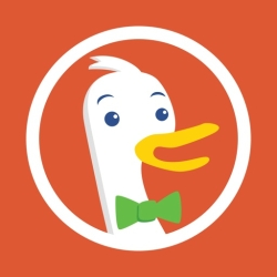 لوگو DuckDuckGo Privacy Browser