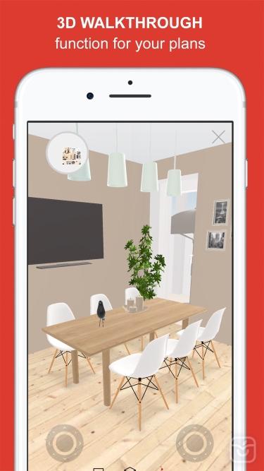 تصاویر Roomle 3D & AR room planner
