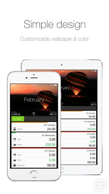 تصاویر Money - Track easily