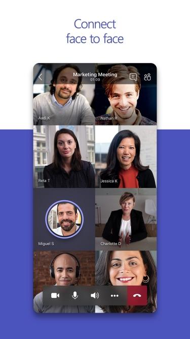 تصاویر Microsoft Teams