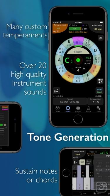 تصاویر TonalEnergy Tuner & Metronome
