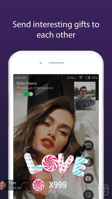 تصاویر Rakoo- video chat, match date