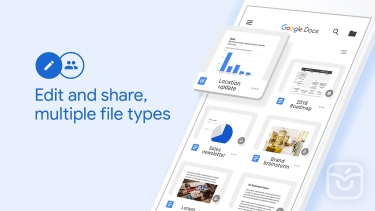تصاویر Google Docs: Sync, Edit, Share