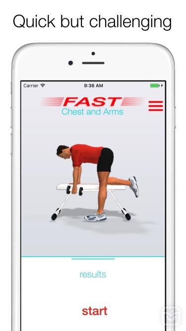 تصاویر Fast Chest and Arms Workouts