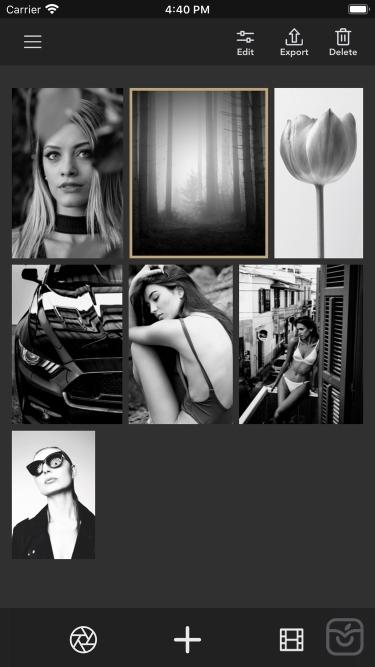 تصاویر Monotone B&W Filters & Effects