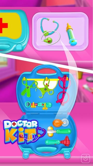تصاویر Doctor kit toys - Doctor Game
