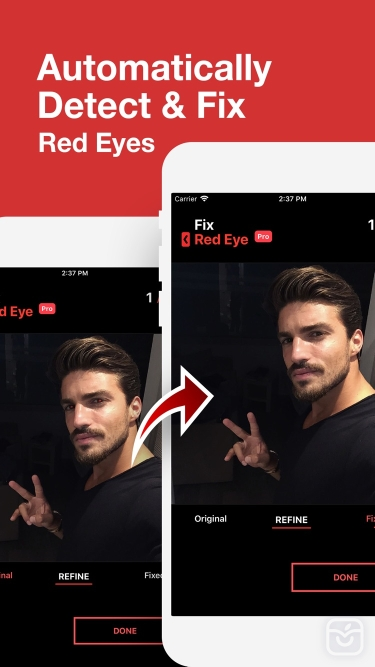 تصاویر Fix+: Red Eye Remover