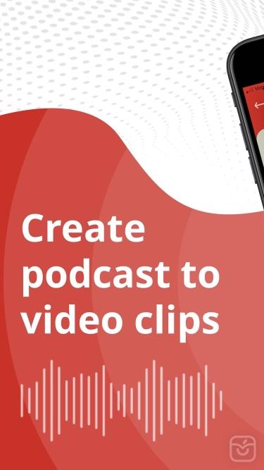 تصاویر PodVideo - Podcast to video
