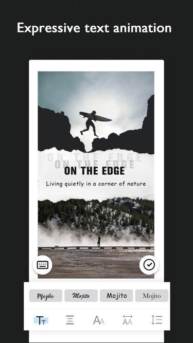 تصاویر Mojito - Edit Story Templates