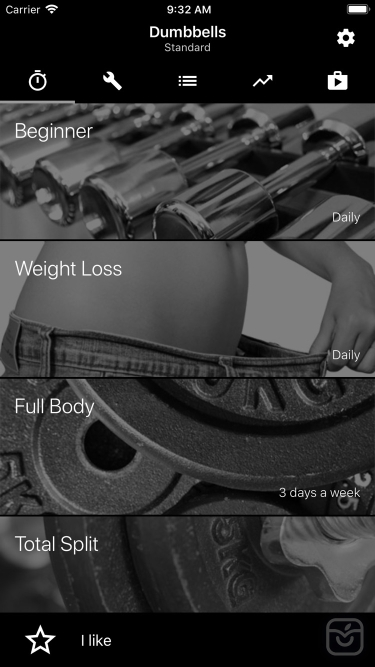 تصاویر Dumbbell Home Workout