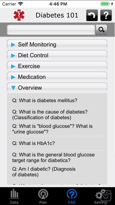 تصاویر iFORA Diabetes Manager