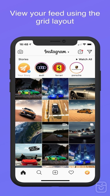 تصاویر Instagram Rocket