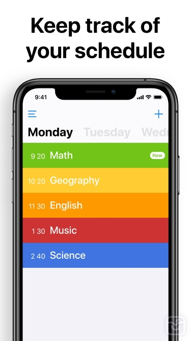 تصاویر  ++ Class Timetable