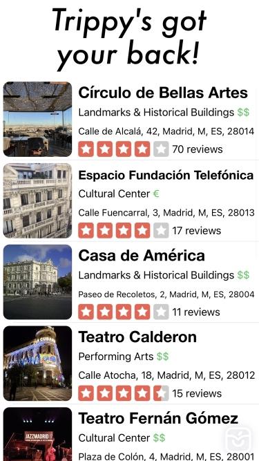 تصاویر Trippy - Travel App
