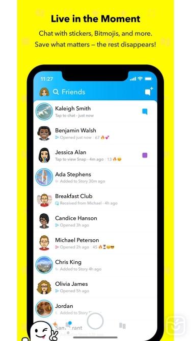 تصاویر اسنپ چت پلاس پلاس   ++Snapchat