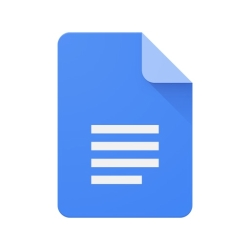 لوگو Google Docs: Sync, Edit, Share