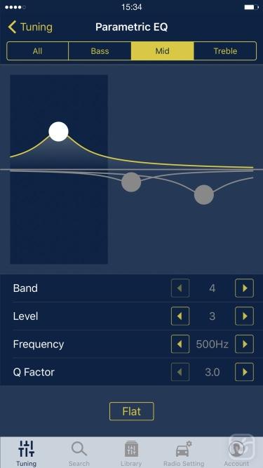 تصاویر Alpine TuneIt App
