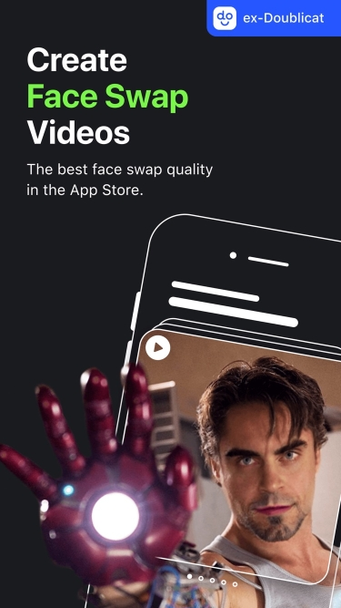 تصاویر REFACE: face swap videos