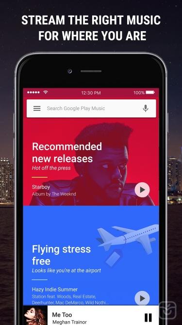 تصاویر Google Play Music