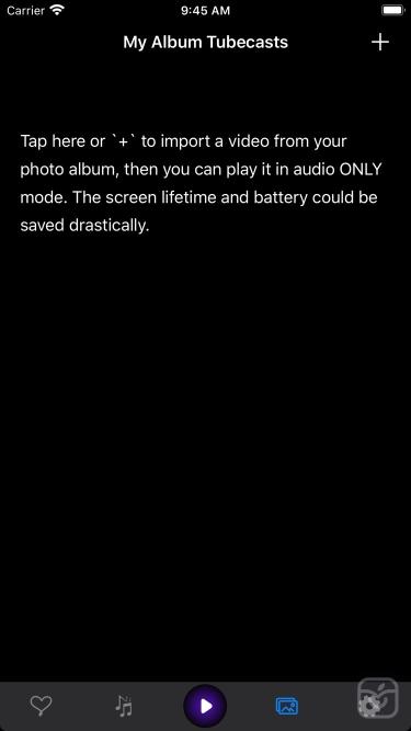 تصاویر Tubecasts - Audio only player