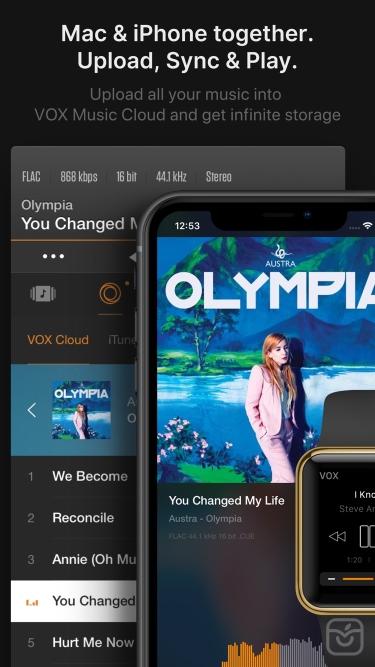 تصاویر VOX – MP3 & FLAC Music Player
